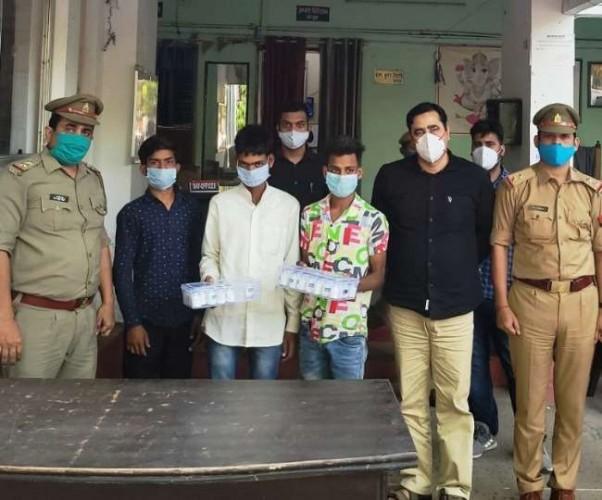 लखनऊ में हर्षा हॉस्पिटल के मालिक समेत चार गिरफ्तार, रेमडेसिविर की कर रहे थे कालाबाजारी