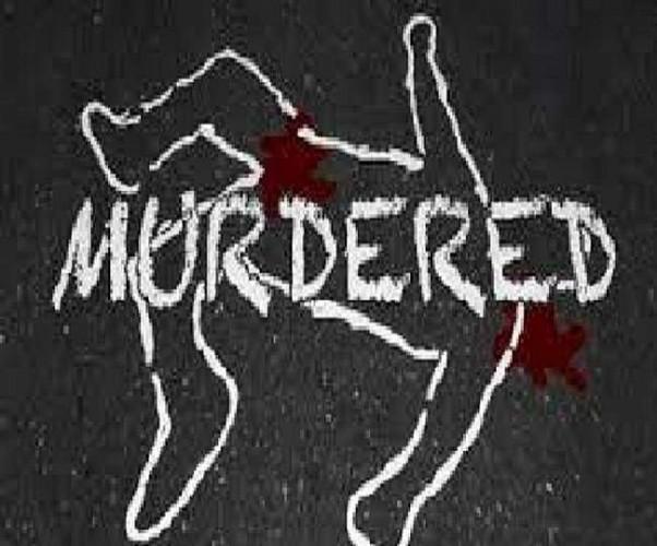 प्रयागराज में घर के बाहर सोए बुजुर्ग का धारदार हथियार से  खून