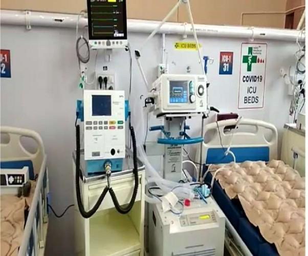 DRDO कोविड अस्पताल में 20 हजार लीटर आक्सीजन की जरूरत, मिली पांच
