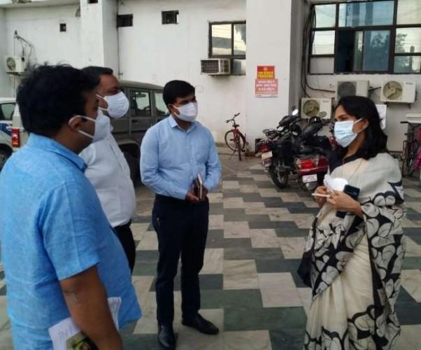 लखनऊ में ऑक्सीजन चोरी करते मिले पांच अस्पताल, आपदा एक्ट में कार्रवाई की तैयारी