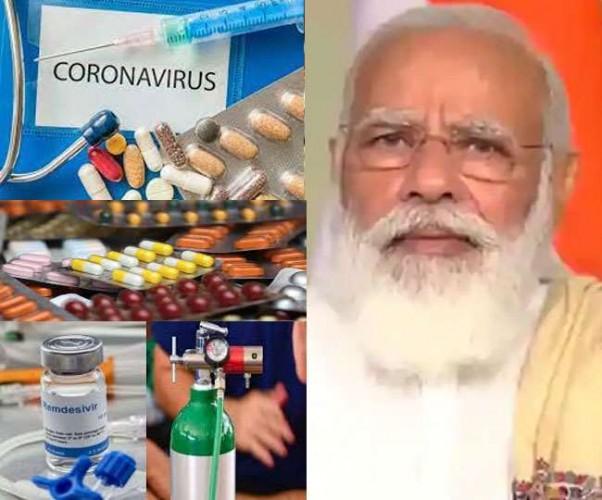 दुनियाभर के देशों ने भारत को कोरोना महामारी से लड़ने में की मदद, रेमडेसिविर की 1.5 लाख डोज दिल्ली पहुंची
