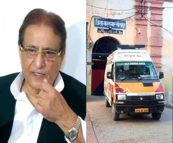 कोरोना संक्रमित आजम खां की तबीयत बिगड़ी, सीतापुर जेल से बेटे के साथ लखनऊ मेदांता अस्पताल शिफ्ट