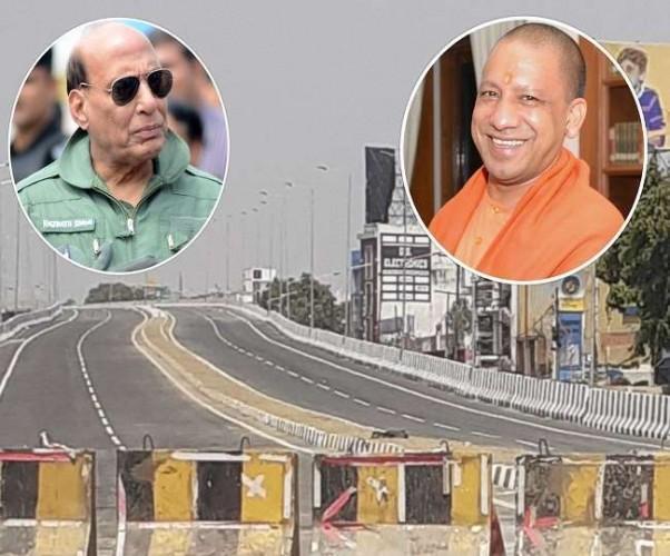 CM योगी आदित्यनाथ और रक्षामंत्री जल्द करेंगे किसान पथ का उद्घाटन, कनेक्ट होगा फैजाबाद-सुलतानपुर रोड
