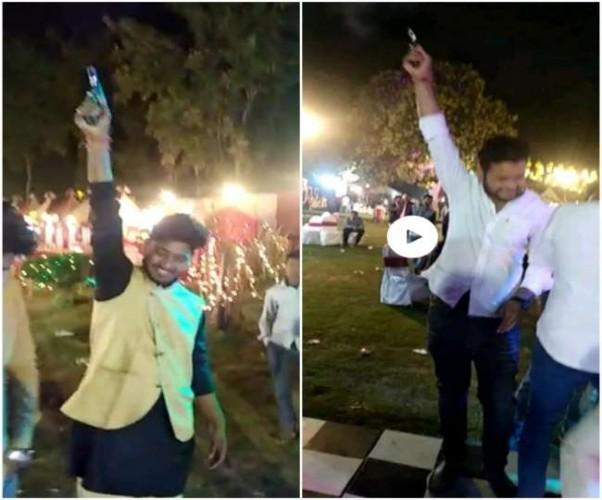 प्रतापगढ़ में हर्ष फायरिंग के आरोपित पकड़े गए, वीडियो वायरल होने पर हरकत में आई पुलिस