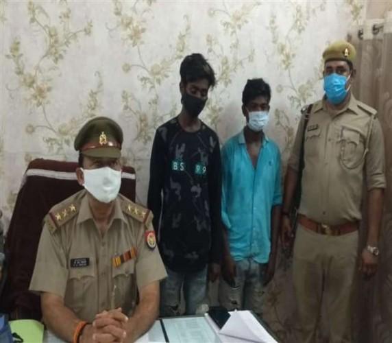 वाराणसी में चोरी की दो बाइक संग तीन गिरफ्तार