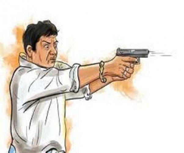 लखीमपुर में पत्नी के प्रेमी से पति के विवाद में चली गोली
