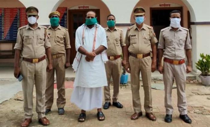 गाजीपुर में मुख्तार अंसारी का करीबी जिला बदर मेहरूद्दीन गिरफ्तार