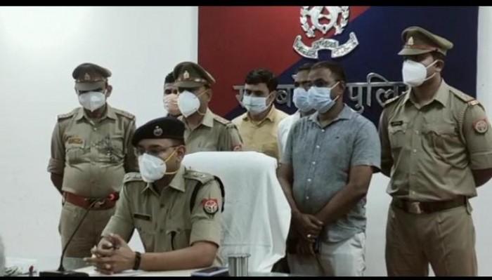 मुख्तार अंसारी का गुर्गा बनकर व्यापारी से मांगी 2 लाख की रंगदारी, 24 घंटे में अभियुक्त को पुलिस ने दबोचा