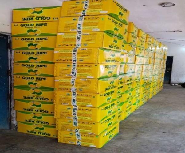 ब्रांडेड के नाम पर 200 पेटी नकली केमिकल से भरा ट्रक पकड़ा गया