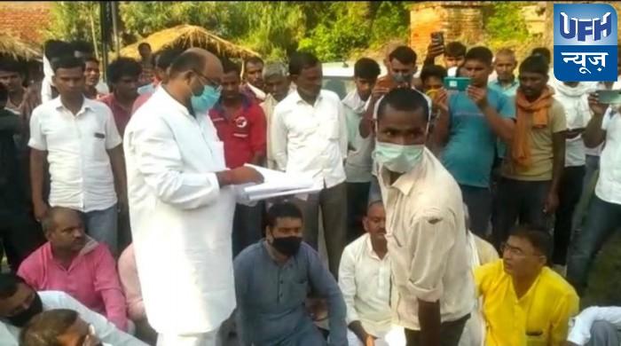 रायबरेली चकबंदी मामले में पुलिस और ग्रामीणों के बीच हुई मारपीट का मामला पकड़ा तूल