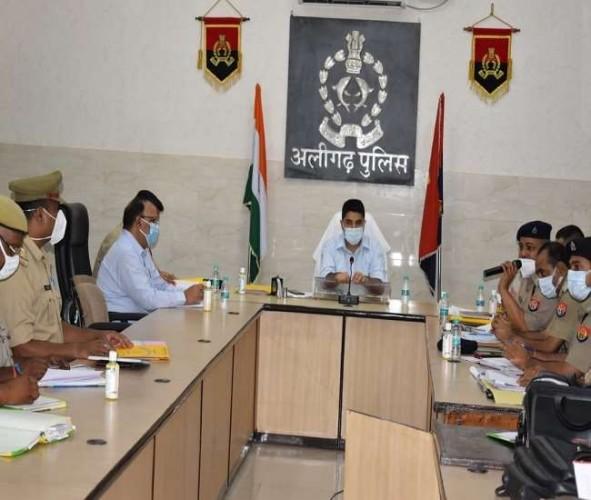 अलीगढ़ में अपराधियों सजा दिलाने वाले पैरोकारों को मिलेगा इनाम : एसएसपी