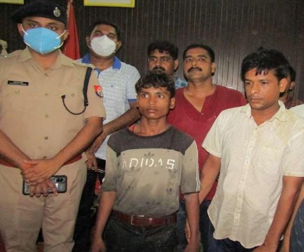 तीन अपहरणकर्ता गिरफ्तार