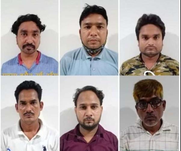 ढाई करोड़ की ड्रग्स के साथ लखनऊ में छह गिरफ्तार