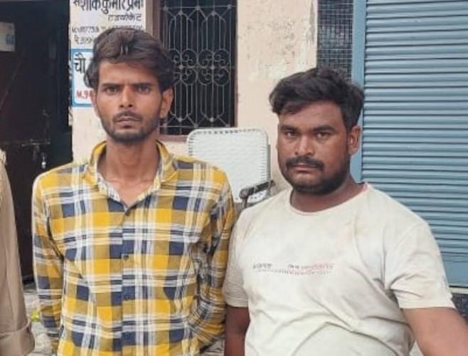 मेरठ में 200 लोगों को ठगने वाले दो शातिर गिरफ्तार