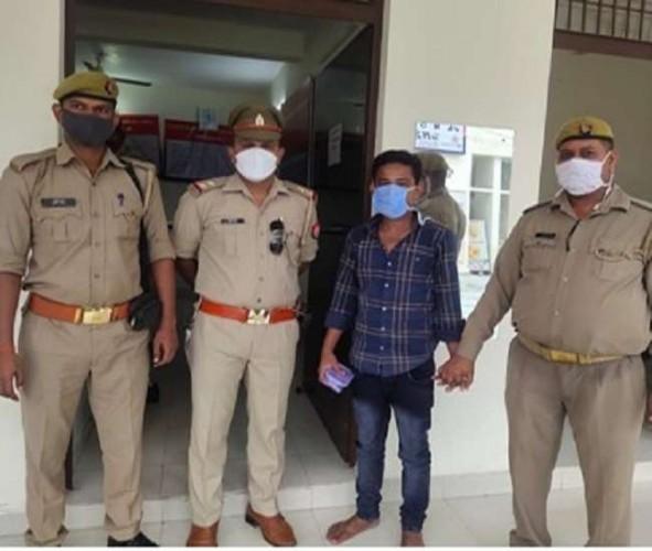 अलीगढ़ में अवैध तरीके से रह रहा बांग्लादेशी रोहिंग्या पकड़ा