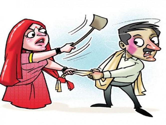 दूसरी शादी का विरोध करने पर पहली पत्नी को दी धमकी,आठ लोगों पर एफआइआर दर्ज