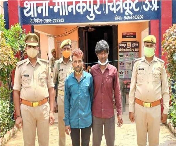 वन कर्मियों से मारपीट के मामले में डकैत गौरी के दो साथी गिरफ्तार