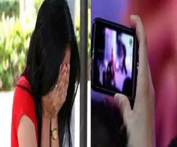 सिपाही ने युवती का अश्लील वीडियो बनाया