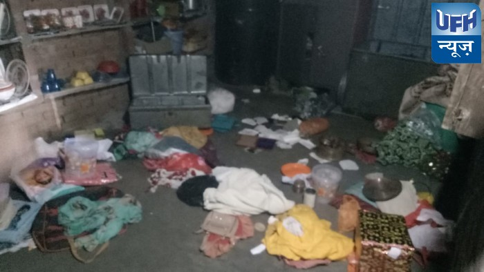 बंथरा में बेखौफ चोरो ने मकान पर बोला धावा,