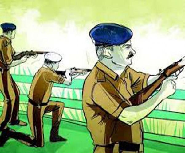 तीन बदमाशों को पुलिस मुठभेड़ में लगी गोली