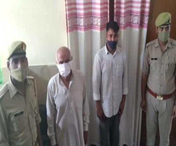 हत्यारोपितों को शरण देने वाले दो लोग गिरफ्तार