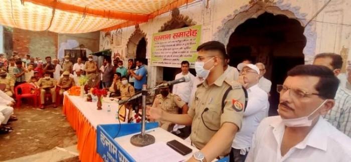 दोहरे हत्याकांड का राजफाश करने वाली पुलिस टीम का सम्मान